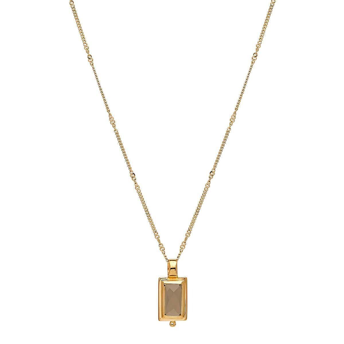 Najo - Desire Smoky Quartz Necklace