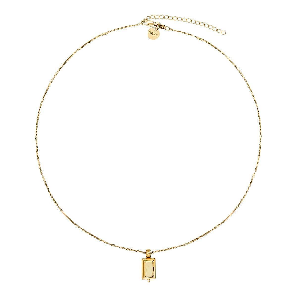 Najo - Desire Lemon Quartz Necklace
