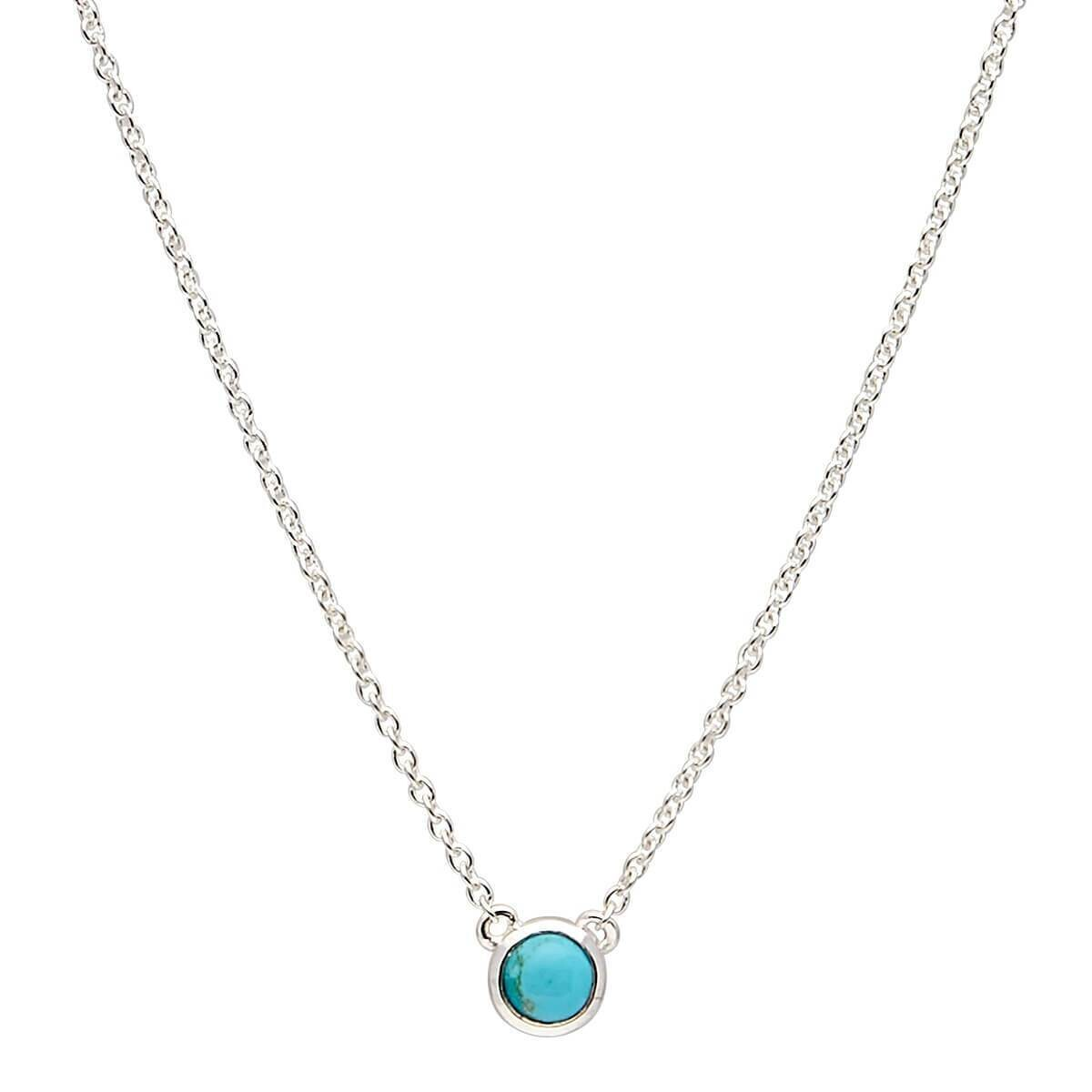 Najo - Heavenly Turquoise Silver Necklace