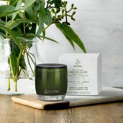 Urban Rituelle - Lemongrass, Lemon Myrtle, Grapefruit & Eucalyptus - Small Candle