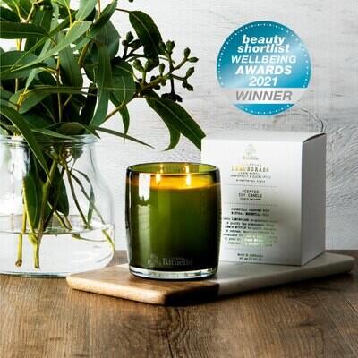 Urban Rituelle - Lemongrass, Lemon Myrtle, Grapefruit & Eucalyptus - Large Candle