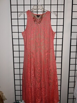 Orange Dream Sundress- Size L