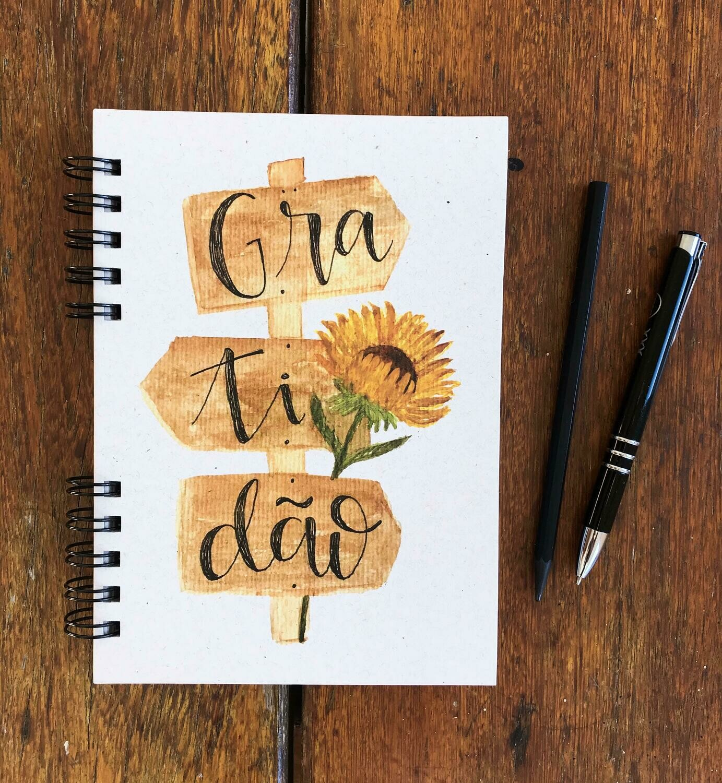 Caderno da Gratidão (Papel Reciclado)