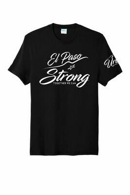 Black EP Strong Soft Tee/V-Neck