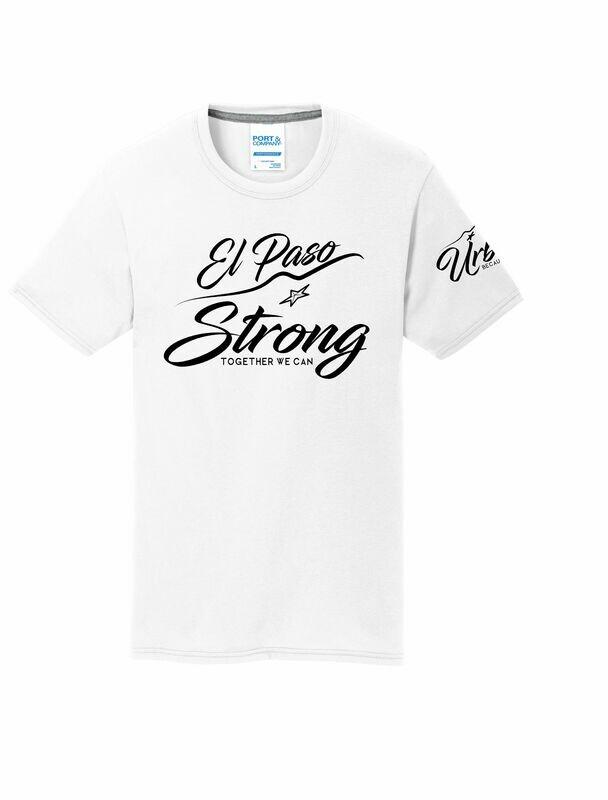 White EP Strong Soft Tee/V-Neck