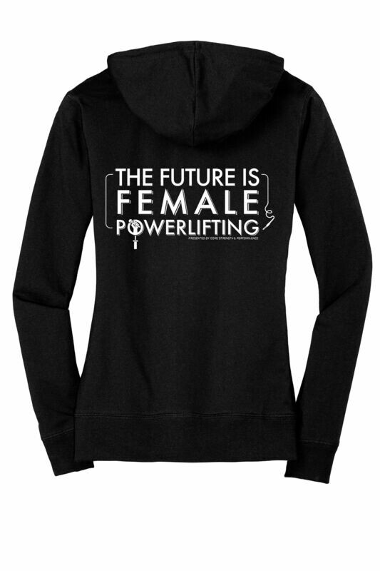The Future is Female Light Zip-Up
