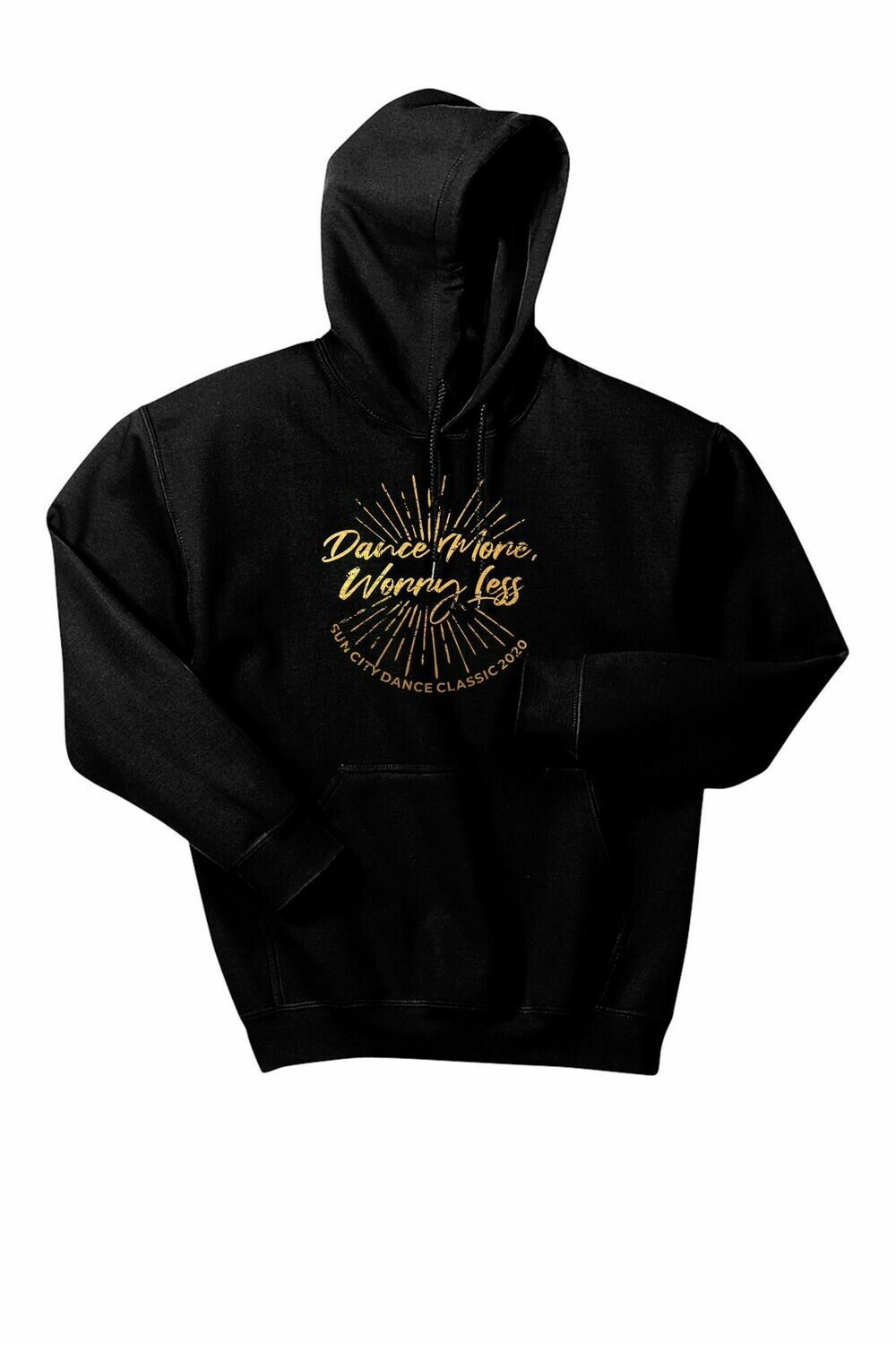 Dance More, Worry Less Hoodie
