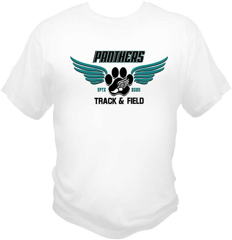 El Paso Panther's Running Club Sublimated Moisture Wicking Tee