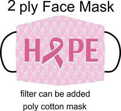 PINK RIBBON MASK
