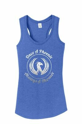 Circle Royal Frost Ladies Tank