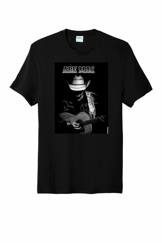 Abe w/ Guitar Tee