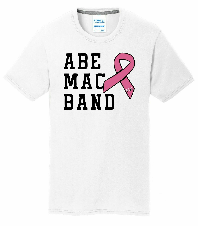 Abe Mac Band Breast Cancer Awareness Tee