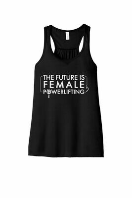 The Future is Female Flowy Tank