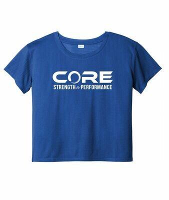 Core S + P Ladies Drifit Crop Tee