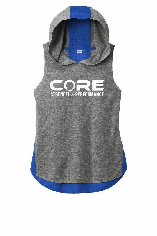 Core S + P Ladies Hoodie Tank