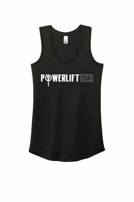 NEW! Powerlifther Ladies Soft Tank
