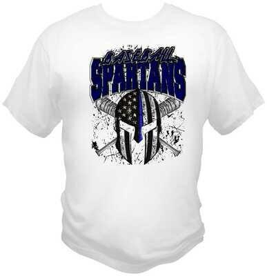 Spartans Baseball White Drifits