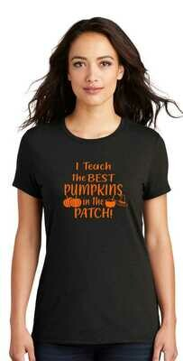 Teach Best pumpkin patch / Supports pinkout
