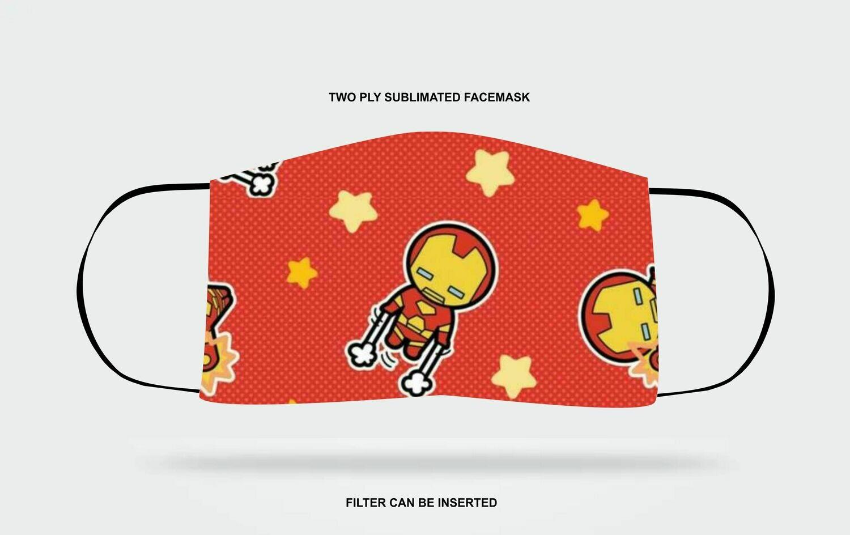 Iron Man Fabric Mask