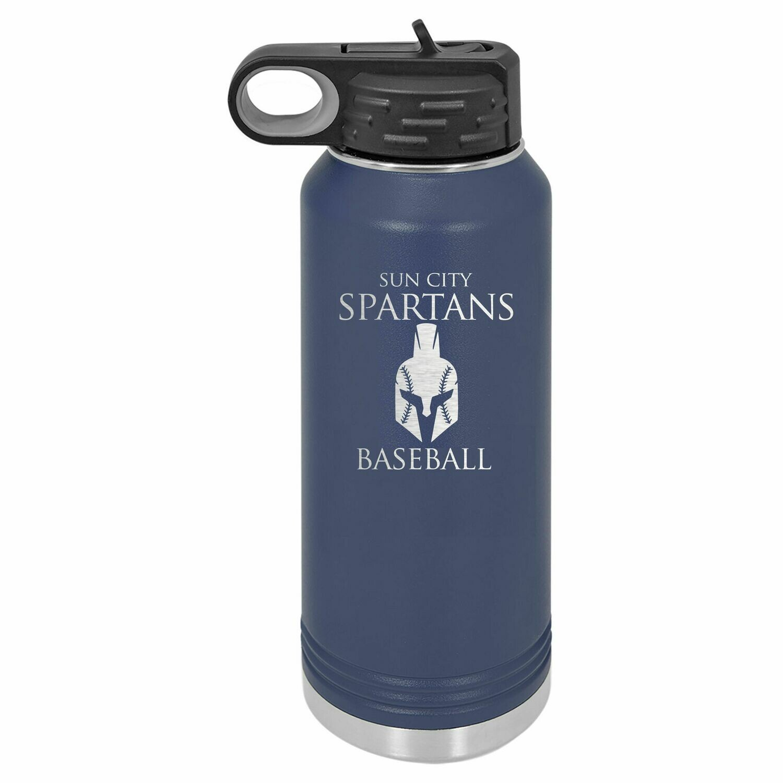 Spartans Water Bottle 32oz.