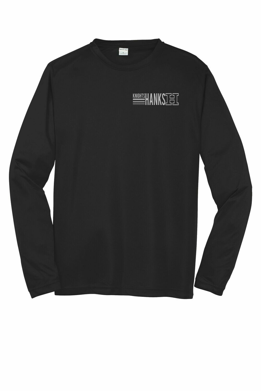 NEW! Line Logo Adult Moisture Wicking Long Sleeve