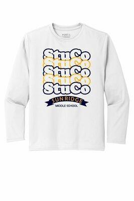 StuCo Moisture Wicking Youth Long Sleeve Tee