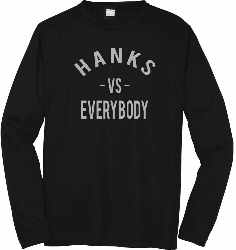 Hanks VS. Everybody Youth Moisture Wicking Long Sleeve