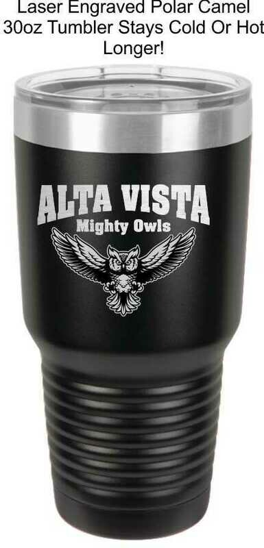 Alta Vista Coffee/Tea Tumbler 30oz.