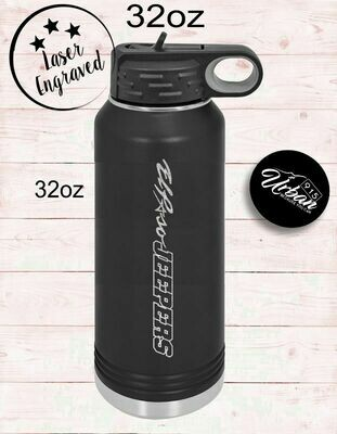 Jeepers  Water Bottle 32oz.