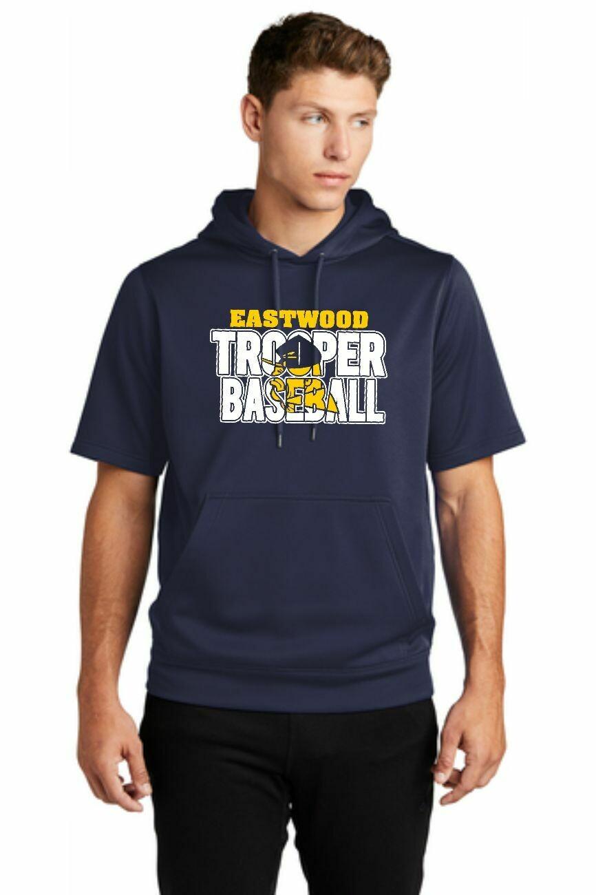 Eastwood baseball  Short Sleeve Hoodie