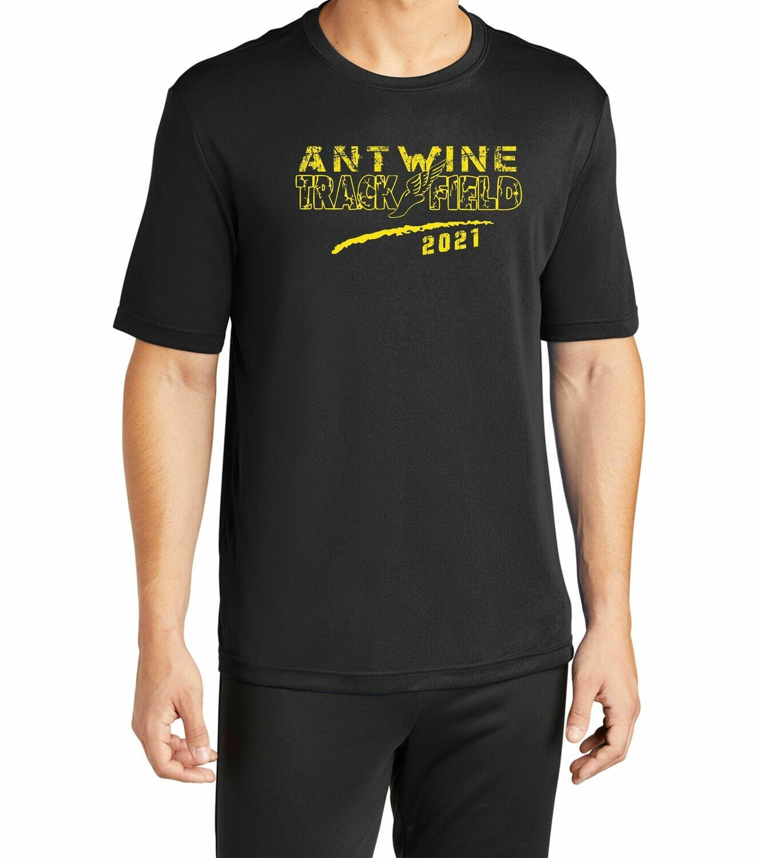 Antwine 100% Poly Black shirt