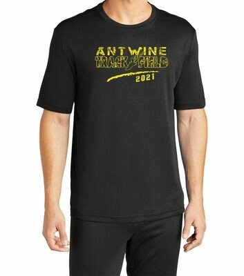 Antwine 100% poly Black shirt