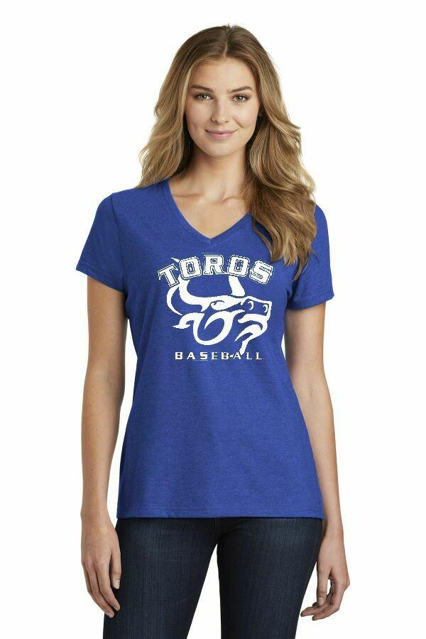 Toro Ladies Royal Team soft V-neck