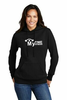My Time Ladies Cut Soft  Fleece Hoodie