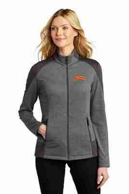 Altomar Grey Smoke Grid Fleece Jacket
