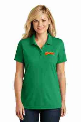 Altomar Bright Kelly Green Embroidered Polo