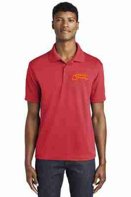 Altomar Red Embroidered Polo
