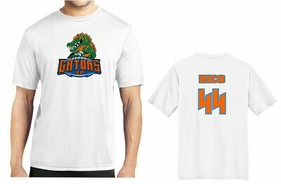 EP GATOR TEAM AND FAN WHITE SHIRTS