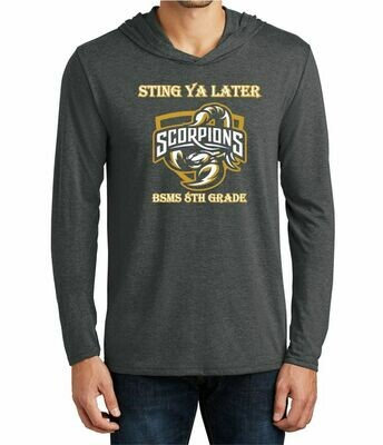 Bill Sybert Super soft Fashon  Hoodied shirt  with 8th Grade names in 21