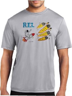 R.E.L. WASHINGTON Short Sleeve Silver Grey