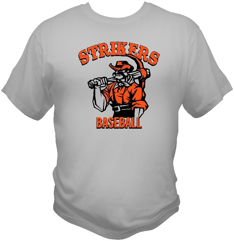 Stikers  TEAM AND FAN SILVER GREY SHIRTS