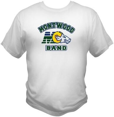 Montwood Band Fan Shirt Chustom Printed.