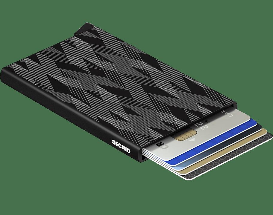 Secrid Cardprotector in Laser Zigzag Black