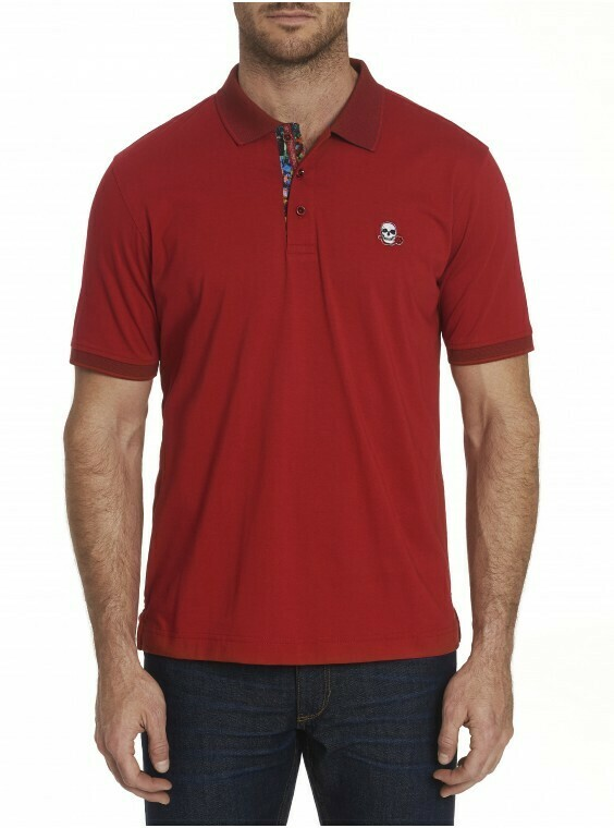 Robert Graham Easton Polo Shirt In Red