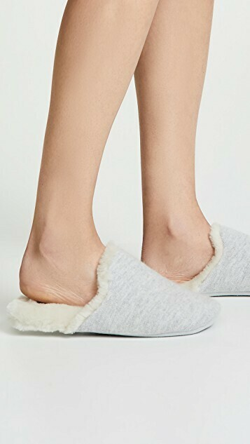 Vince Cadie Cashmere Slippers