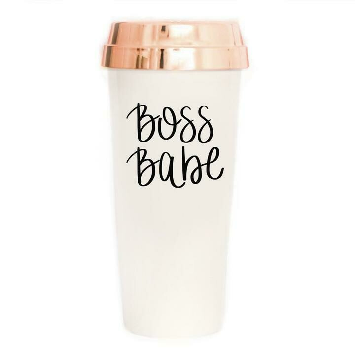 SWD Boss Babe Travel Mug
