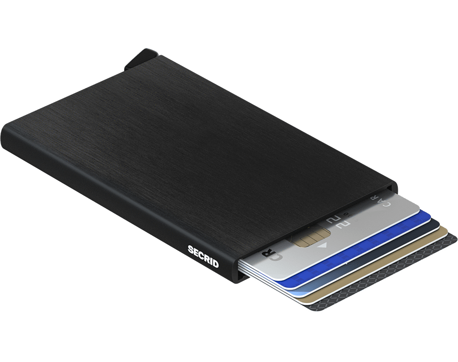 Secrid Cardprotector in Brushed Black