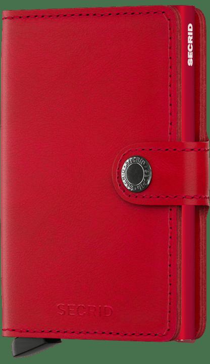 Secrid Miniwallet in Original Red