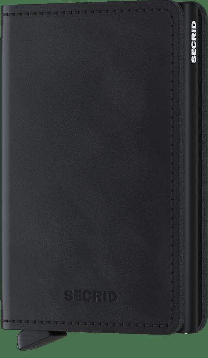 Secrid Slimwallet in Vintage Black