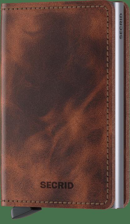 Secrid Slimwallet in Vintage Brown